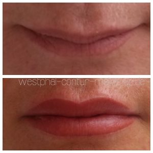 Permanent Make Up Lippen Lippenpigmentierung Berlin
