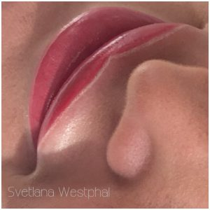 Lippen Permanent Make Up Berlin nach Behandlung